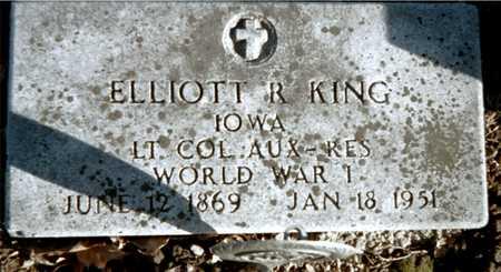 KING, ELLIOTT R. - Muscatine County, Iowa | ELLIOTT R. KING