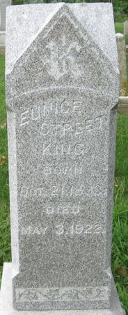 STREET KING, EUNICE - Muscatine County, Iowa | EUNICE STREET KING