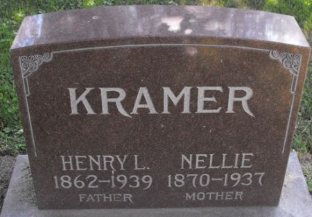 KRAMER, NELLIE - Muscatine County, Iowa   NELLIE KRAMER