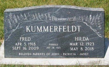 KUMMERFELDT, FREDERICK