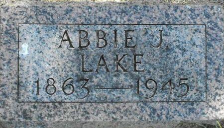 LAKE, ABBIE J. - Muscatine County, Iowa | ABBIE J. LAKE