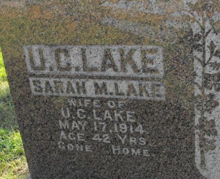LAKE, U. C. - Muscatine County, Iowa | U. C. LAKE