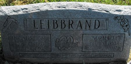 LEIBRAND, DONALD LEROY SR. - Muscatine County, Iowa   DONALD LEROY SR. LEIBRAND