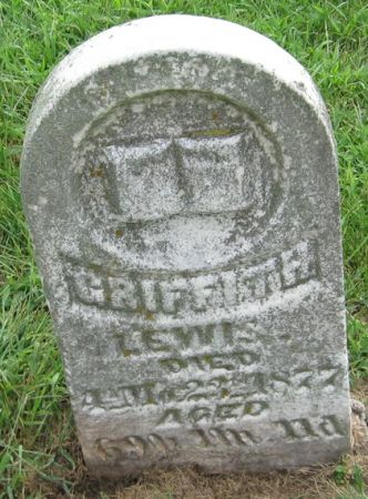 LEWIS, GRIFFITH - Muscatine County, Iowa   GRIFFITH LEWIS