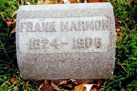 MARMON, FRANK - Muscatine County, Iowa | FRANK MARMON