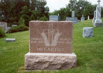 GORMAN MCCARTHY, FRANCES - Muscatine County, Iowa | FRANCES GORMAN MCCARTHY