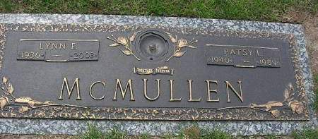 WHEELER MCMULLEN, PATSY LEE - Muscatine County, Iowa   PATSY LEE WHEELER MCMULLEN