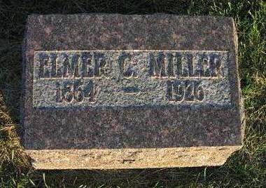 MILLER, ELMER C. - Muscatine County, Iowa | ELMER C. MILLER