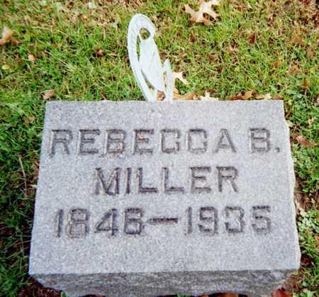 MILLER, REBECCA B. - Muscatine County, Iowa | REBECCA B. MILLER