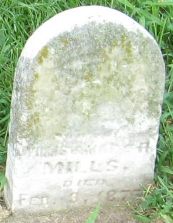 MILLS, CLAYTON - Muscatine County, Iowa | CLAYTON MILLS