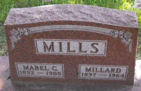 MILLS, MILLARD - Muscatine County, Iowa | MILLARD MILLS