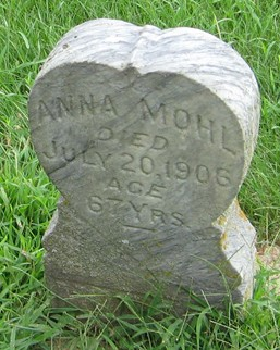 MOHL, ANNA - Muscatine County, Iowa | ANNA MOHL