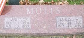 MOLIS, LAWRENCE H. - Muscatine County, Iowa   LAWRENCE H. MOLIS