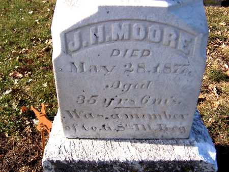 MOORE, J.H. - Muscatine County, Iowa | J.H. MOORE