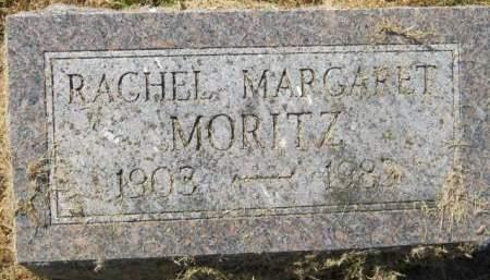 MORITZ, RACHEL MARGARET - Muscatine County, Iowa   RACHEL MARGARET MORITZ