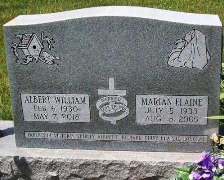 MORRIS, ALBERT WILLIAM - Muscatine County, Iowa | ALBERT WILLIAM MORRIS