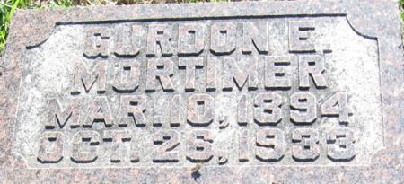 MORTIMER, GURDON E. - Muscatine County, Iowa | GURDON E. MORTIMER