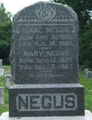 NEGUS, ISAAC - Muscatine County, Iowa | ISAAC NEGUS
