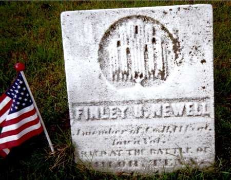 NEWELL, FINLEY H. - Muscatine County, Iowa   FINLEY H. NEWELL