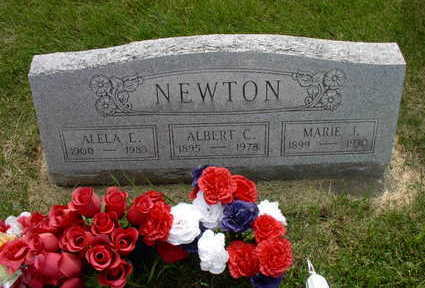 NEWTON, MARIE J. - Muscatine County, Iowa | MARIE J. NEWTON