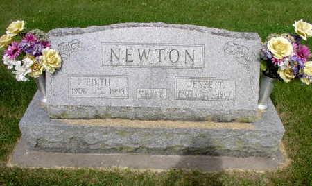 TOMFIELD NEWTON, EDITH L. - Muscatine County, Iowa | EDITH L. TOMFIELD NEWTON