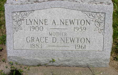 ROBINSON NEWTON, GRACE DENA - Muscatine County, Iowa | GRACE DENA ROBINSON NEWTON