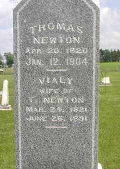 NEWTON, THOMAS - Muscatine County, Iowa | THOMAS NEWTON