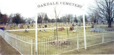 OAKDALE, CEMETERY - Muscatine County, Iowa | CEMETERY OAKDALE