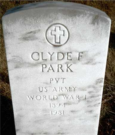 PARK, CLYDE F. - Muscatine County, Iowa | CLYDE F. PARK