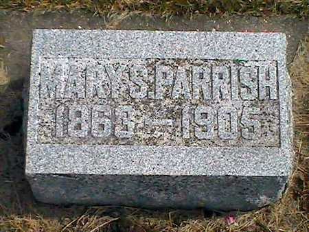 GREEN PARRISH, MARY S. - Muscatine County, Iowa | MARY S. GREEN PARRISH