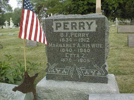 PERRY, MARGARET A. - Muscatine County, Iowa | MARGARET A. PERRY