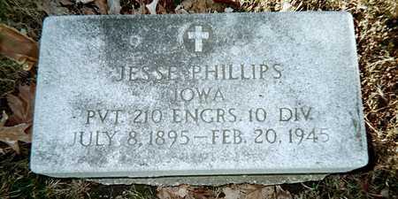 PHILLIPS, JESSE - Muscatine County, Iowa   JESSE PHILLIPS