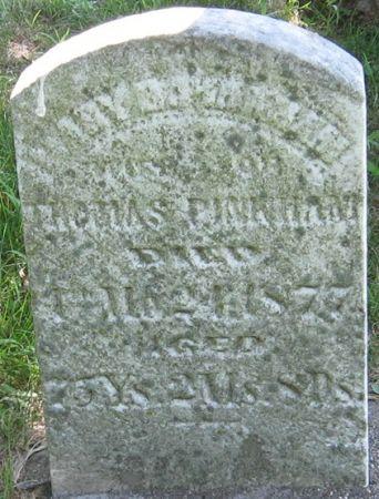 PINKHAM, MARY B. - Muscatine County, Iowa   MARY B. PINKHAM