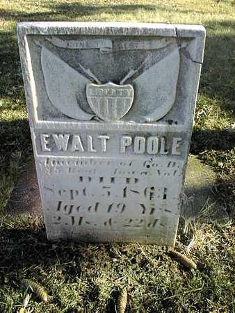 POOLE, EWALT - Muscatine County, Iowa | EWALT POOLE
