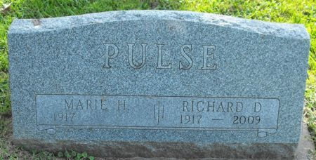 PULSE, RICHARD D. - Muscatine County, Iowa   RICHARD D. PULSE