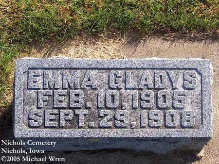 QUINBY, EMMA GLADYS - Muscatine County, Iowa | EMMA GLADYS QUINBY