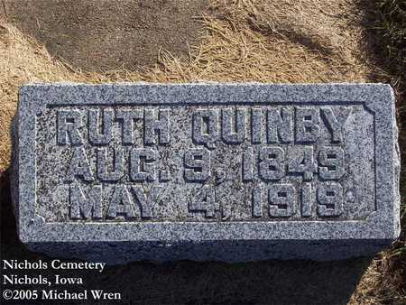 MANSFIELD QUINBY, RUTH - Muscatine County, Iowa | RUTH MANSFIELD QUINBY