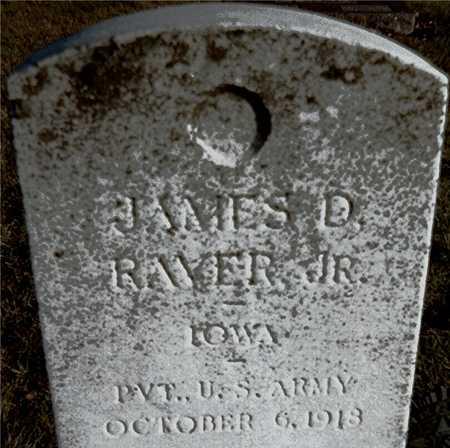 RAVER, JAMES D., JR. - Muscatine County, Iowa | JAMES D., JR. RAVER