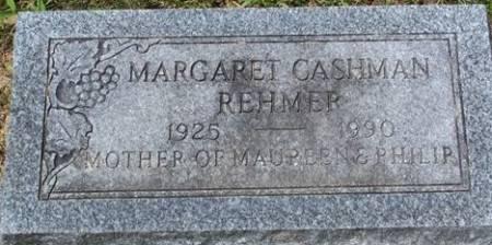 REHMER, MARGARET - Muscatine County, Iowa   MARGARET REHMER