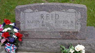 REID, MARION R. - Muscatine County, Iowa | MARION R. REID