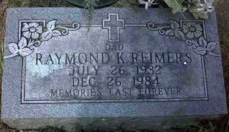 REIMERS, RAYMOND  K. - Muscatine County, Iowa | RAYMOND  K. REIMERS