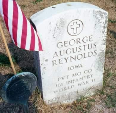 REYNOLDS, GEORGE AUGUSTUS - Muscatine County, Iowa | GEORGE AUGUSTUS REYNOLDS