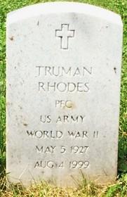RHODES, TRUMAN - Muscatine County, Iowa | TRUMAN RHODES