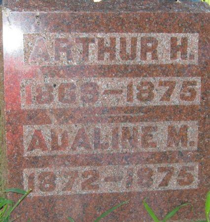 ROBERTS, ADALINE M. - Muscatine County, Iowa   ADALINE M. ROBERTS