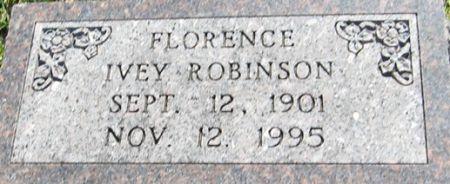 ROBINSON, FLORENCE - Muscatine County, Iowa   FLORENCE ROBINSON