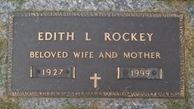 ELLIS ROCKEY, EDITH L. - Muscatine County, Iowa | EDITH L. ELLIS ROCKEY