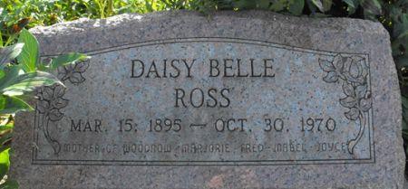ROSS, DAISY BELLE - Muscatine County, Iowa   DAISY BELLE ROSS