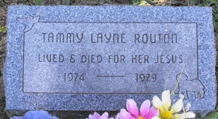ROUTON, TAMMY LAYNE - Muscatine County, Iowa | TAMMY LAYNE ROUTON