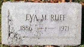 KINSLEY RUFF, EVA M. - Muscatine County, Iowa | EVA M. KINSLEY RUFF