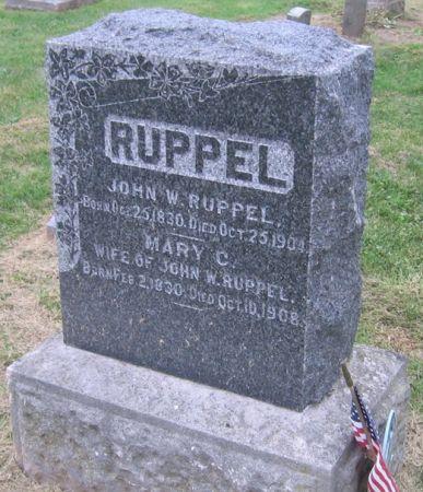 RUPPEL, JOHN W. - Muscatine County, Iowa | JOHN W. RUPPEL